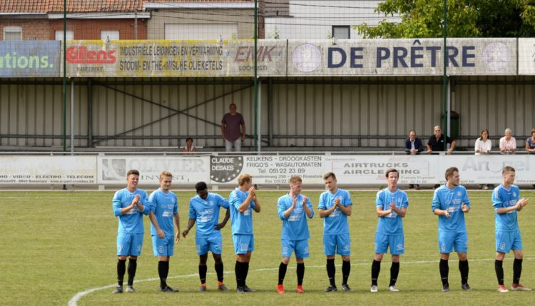 Foto's Club Roeselare – KFC Meulebeke (2 – 1).