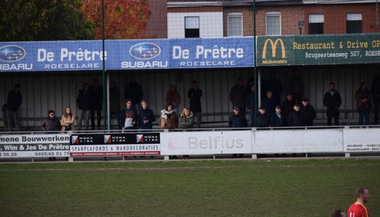 Club Roeselare – Sparta Heestert   2 – 2
