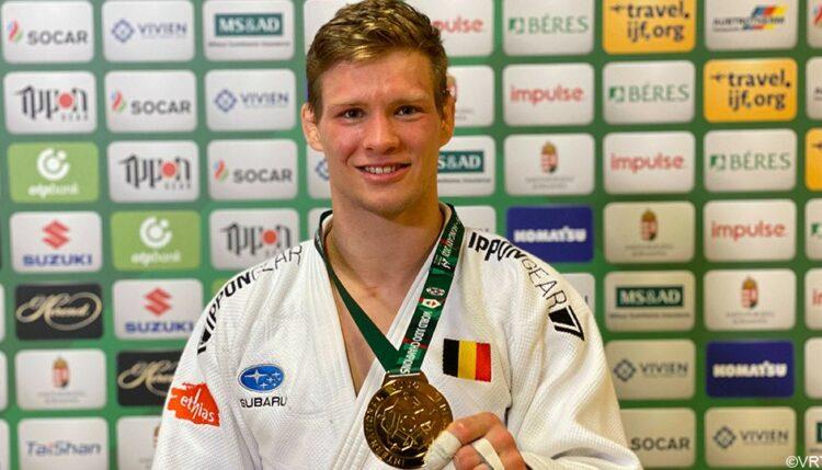 Matthias Casse geeft judo-initiatie bij Garage De Prêtre