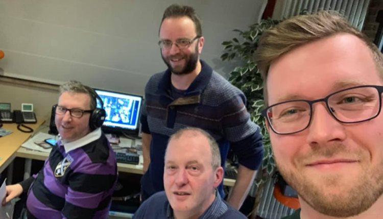 Club te gast bij radio-omroep Meteor in Tielt