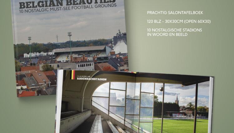 Rodenbachstadion als enige West-Vlaams voetbalstadion in het boek 'Belgian Beauties'